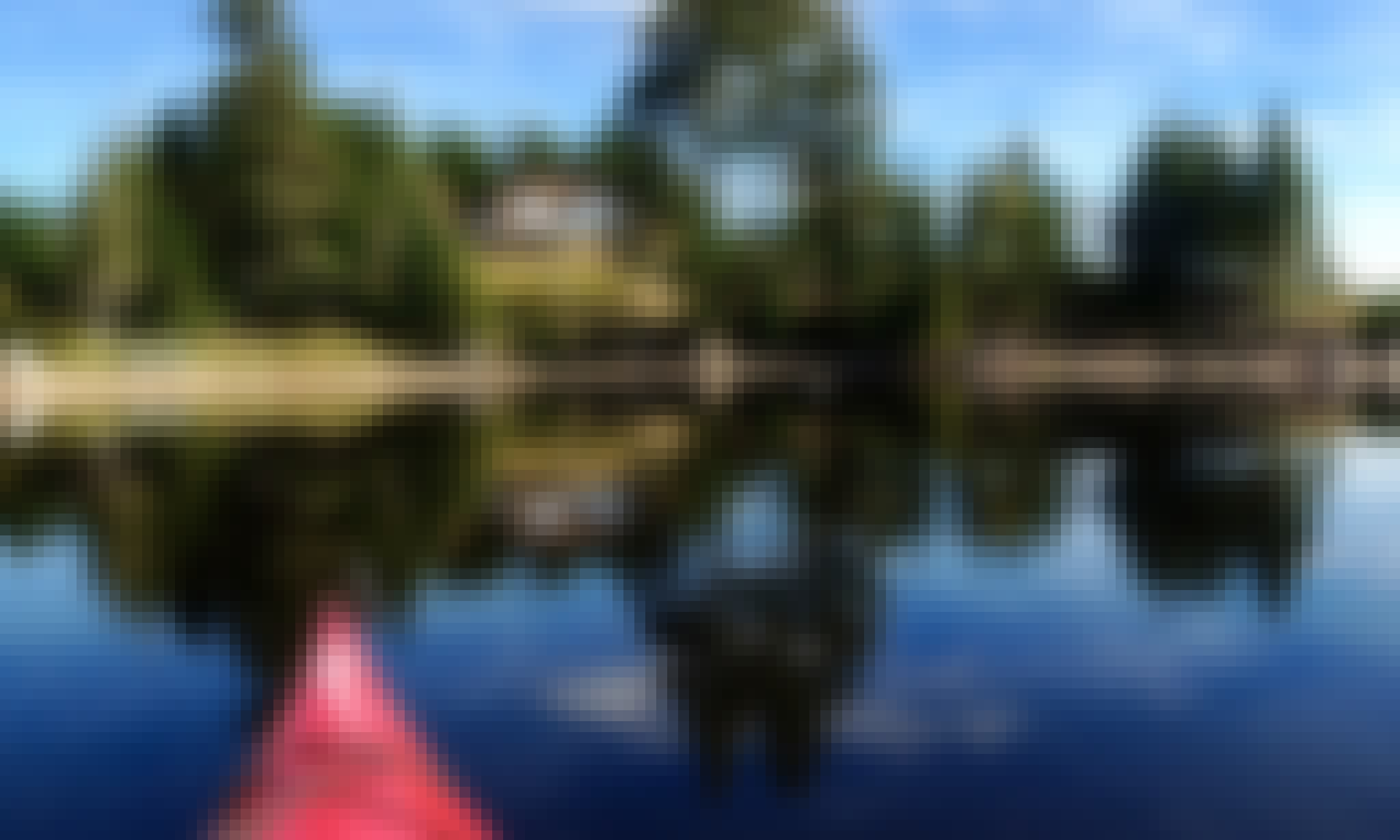 Kayak Rentals Kayaking from Lake to Ocean Sandbar!