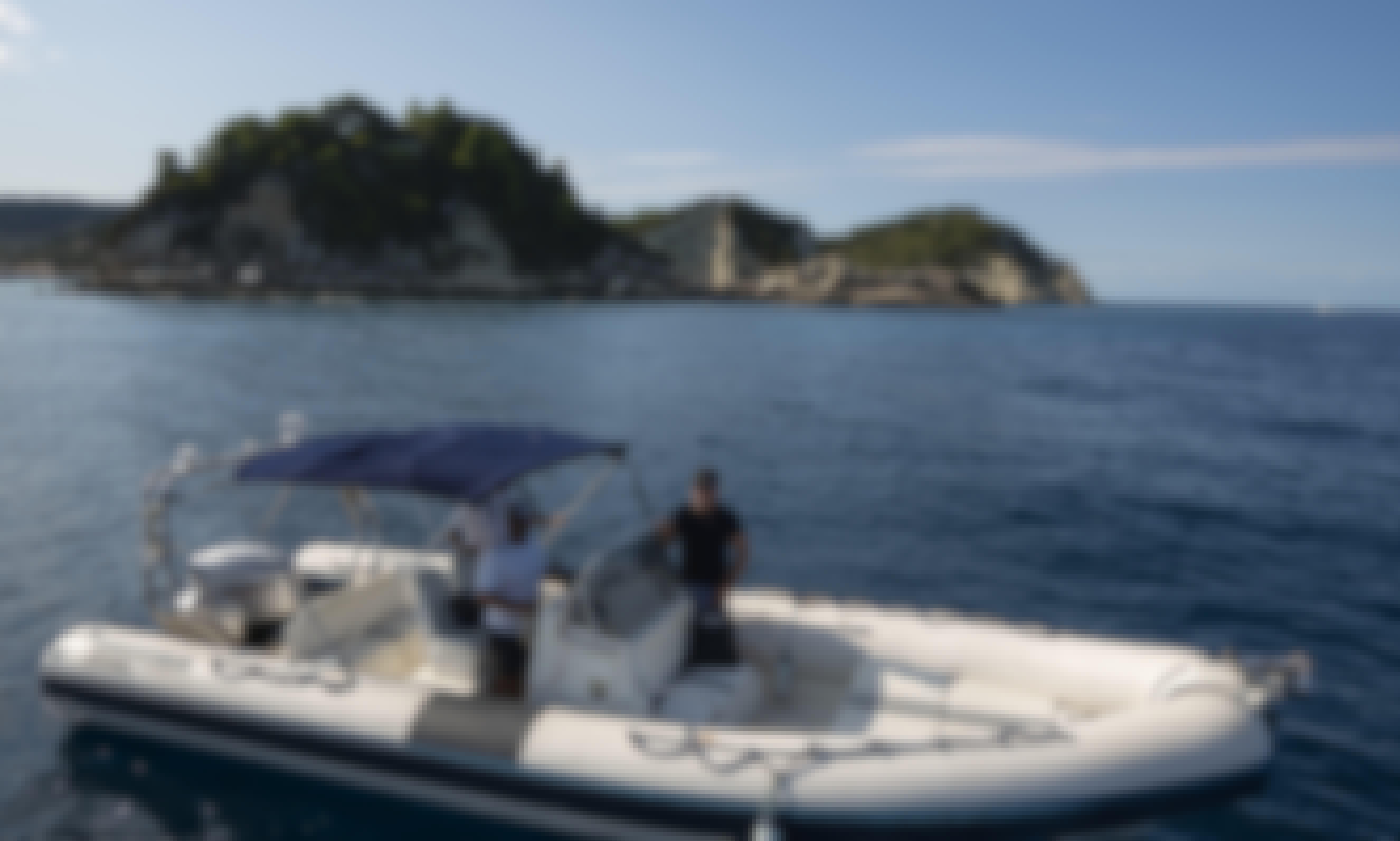 Speed Boat in Sivota