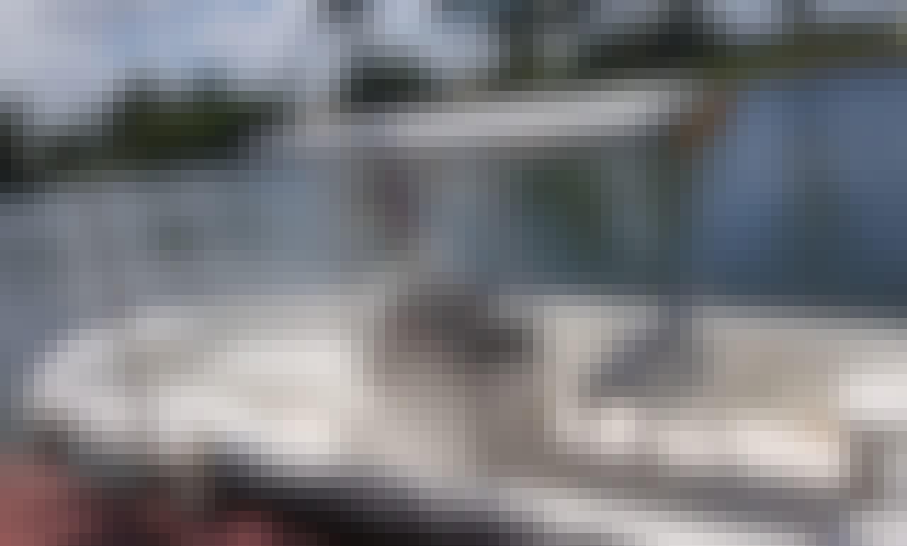 22ft Fishing Skiff for Rent in Ladyville Belize at River Bend Resort