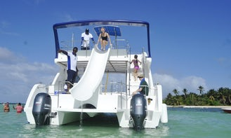Party Boat Cruise in Punta Cana for VIP Party! BOAT-SNORKED-NATURAL POOL