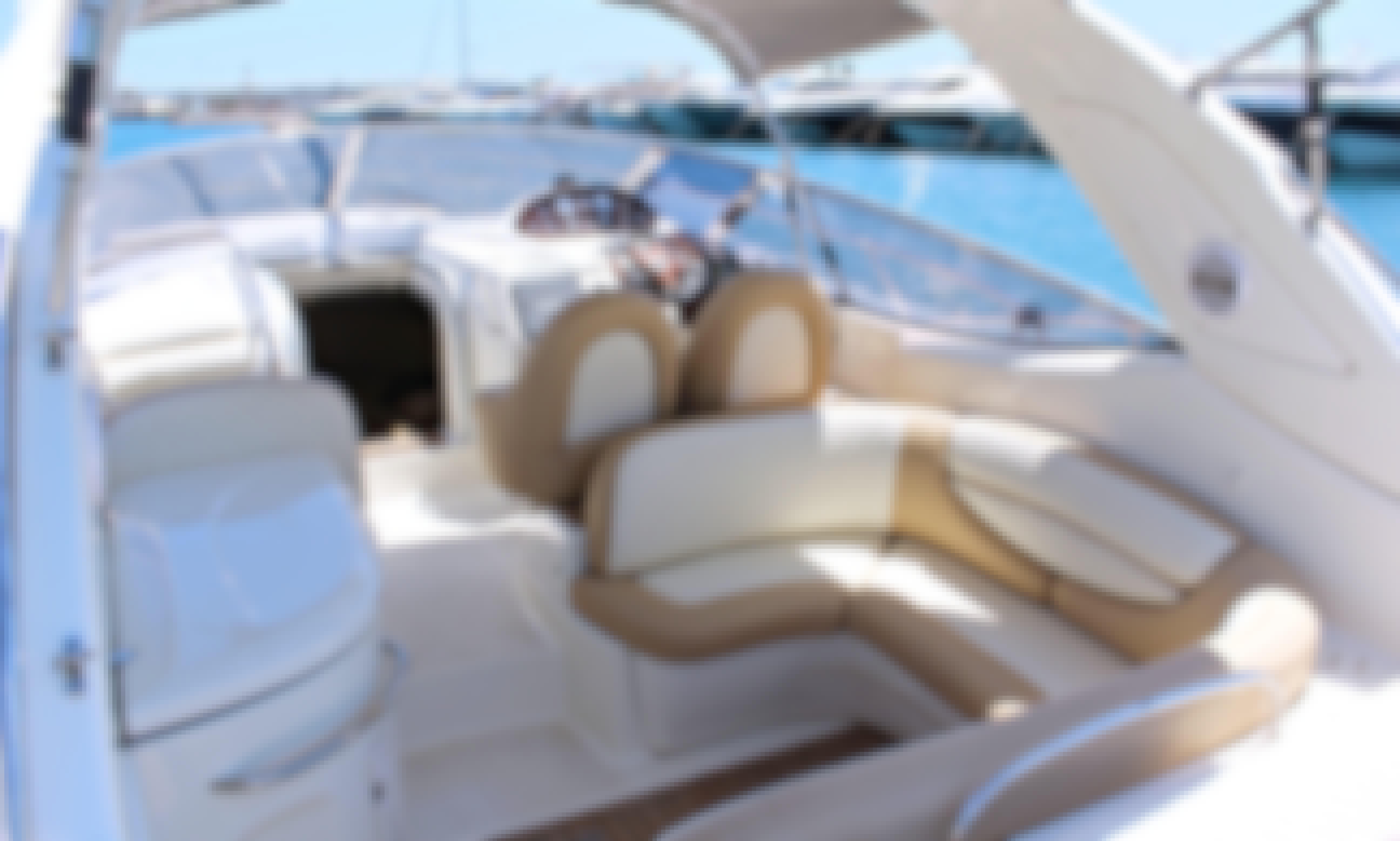 Alquilar Cranchi 41 endurance en Ibiza