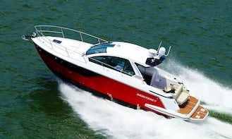 Monterey 360SC! If you were to desire a vessel with more luxury!