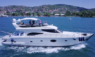 Cruise the waters of İstanbul with this Luxury Yacht