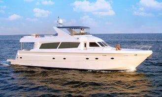 2008 Gulf Power Mega Yacht Rental in Dubai!