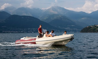QLD 19' Motorized RIB for Daily Rent in Italy