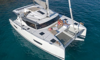 Fountain Pajot Astrea Luxury 42' Catamaran for Charter