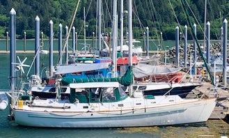 Sailing Alaska Inside Passage Morgan 46' Sailing Vessel For Hire
