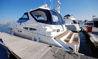 Sealine S48 Motor Yacht Rental in Paleo Faliro, Greece