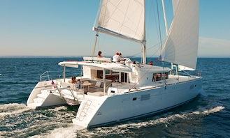 2013 Lagoon 450 F Cruising Catamaran Rental in Paleo Faliro, Greece