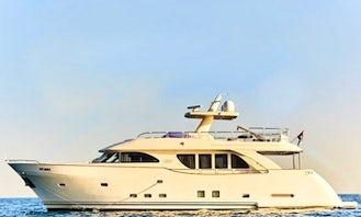 80' Luxury Yacht Charter Available In Dubai, UAE