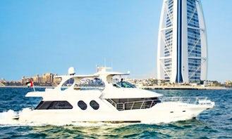62ft Spacious Yacht Charter in Dubai, UEA