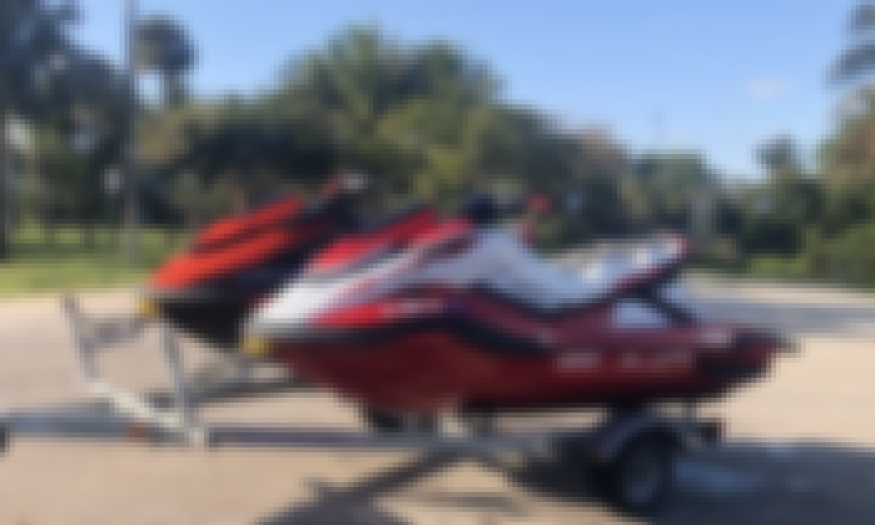 2021 Yamaha SVHO FX Cruiser!  Ocean Adventure at it's Finest!!