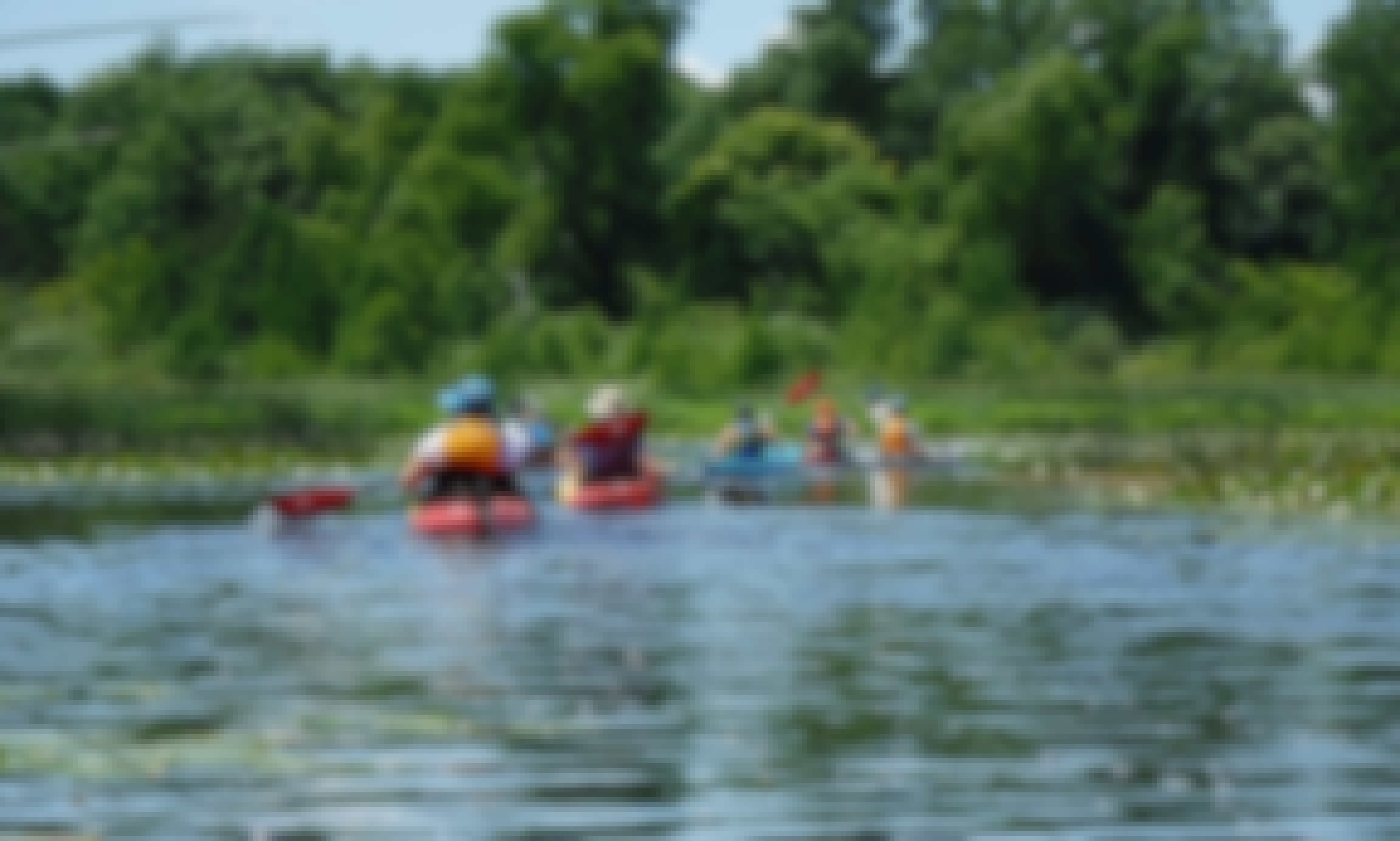 Kayaking Guided Tours on the Milwaukee river and surrounding bodies of water