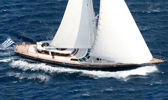 Gitana Perini Navi 118 Sailing Yacht Rental in Paleo Faliro, Greece