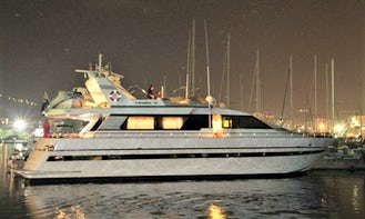 Canados 75 Flybridge Luxury Party and Leisure Yacht