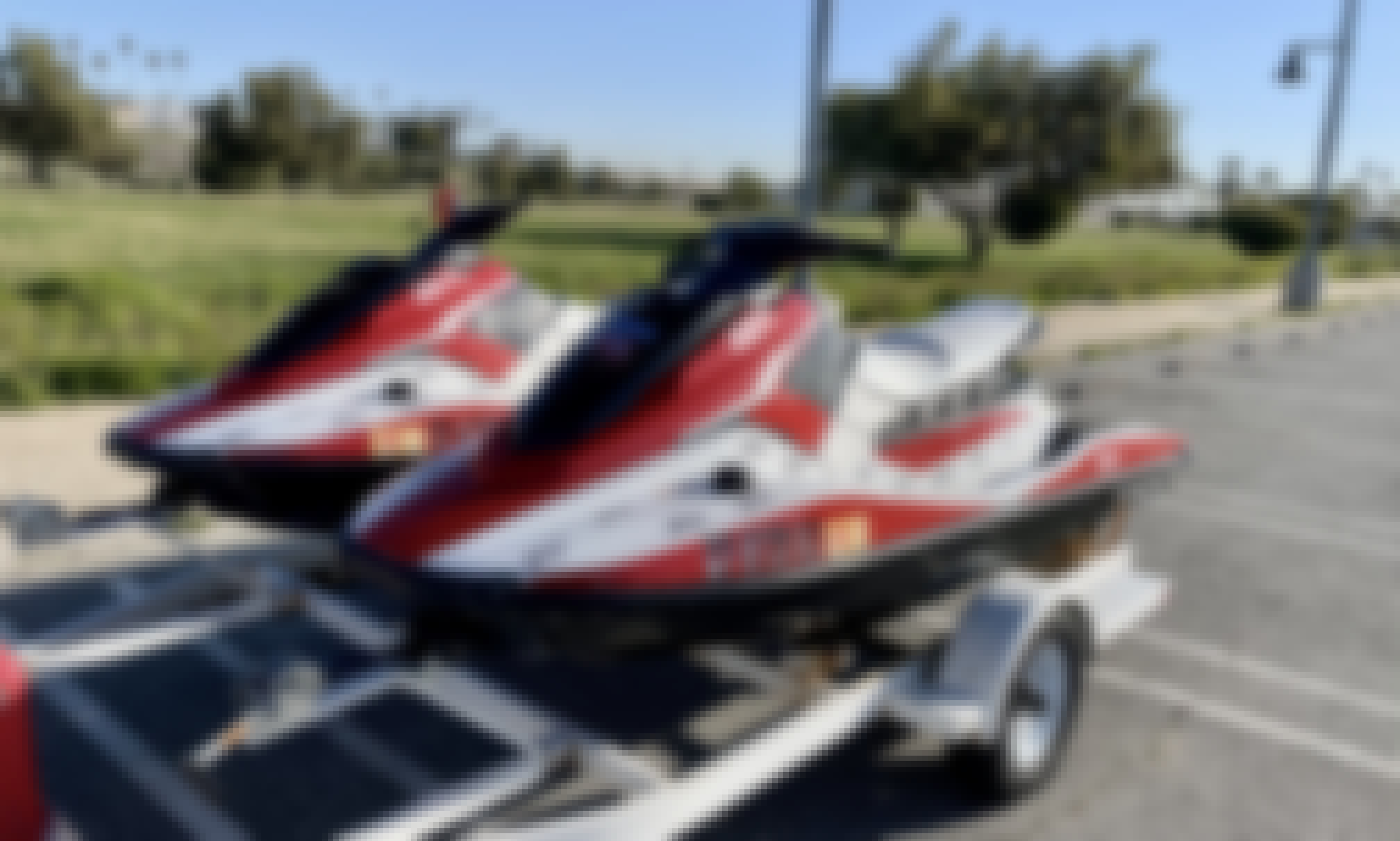 Jet ski Waverunners Available for Rent in San Diego