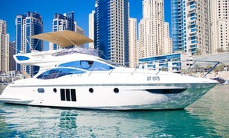 48ft Azimut  Motor Yacht Charter in Dubai, UAE for 10 person!