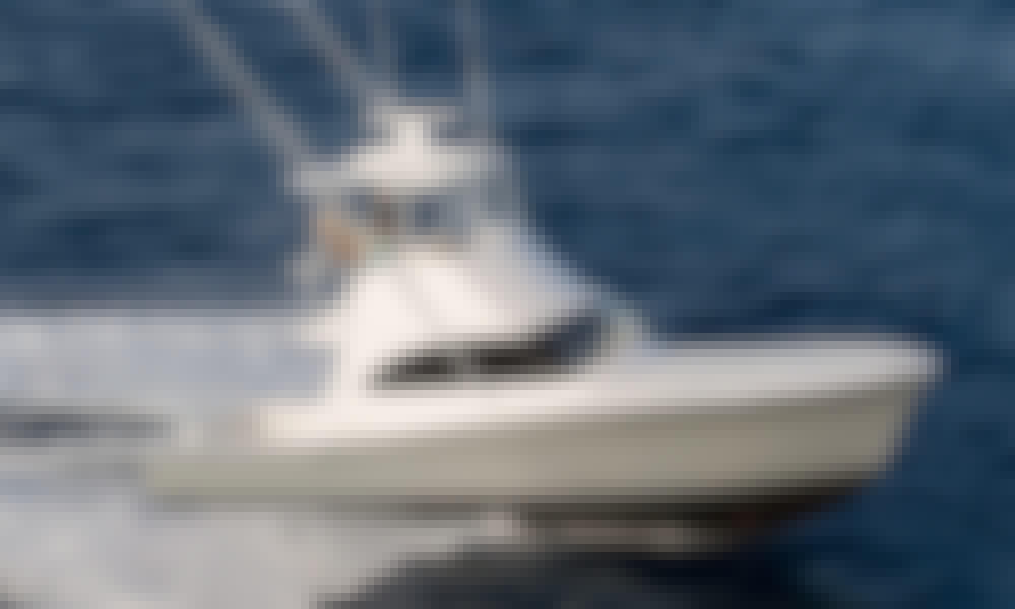 Viking Convertible Luxury Yacht Cruise, Coastal & Catalina Island Charters, in Dana Point, CA