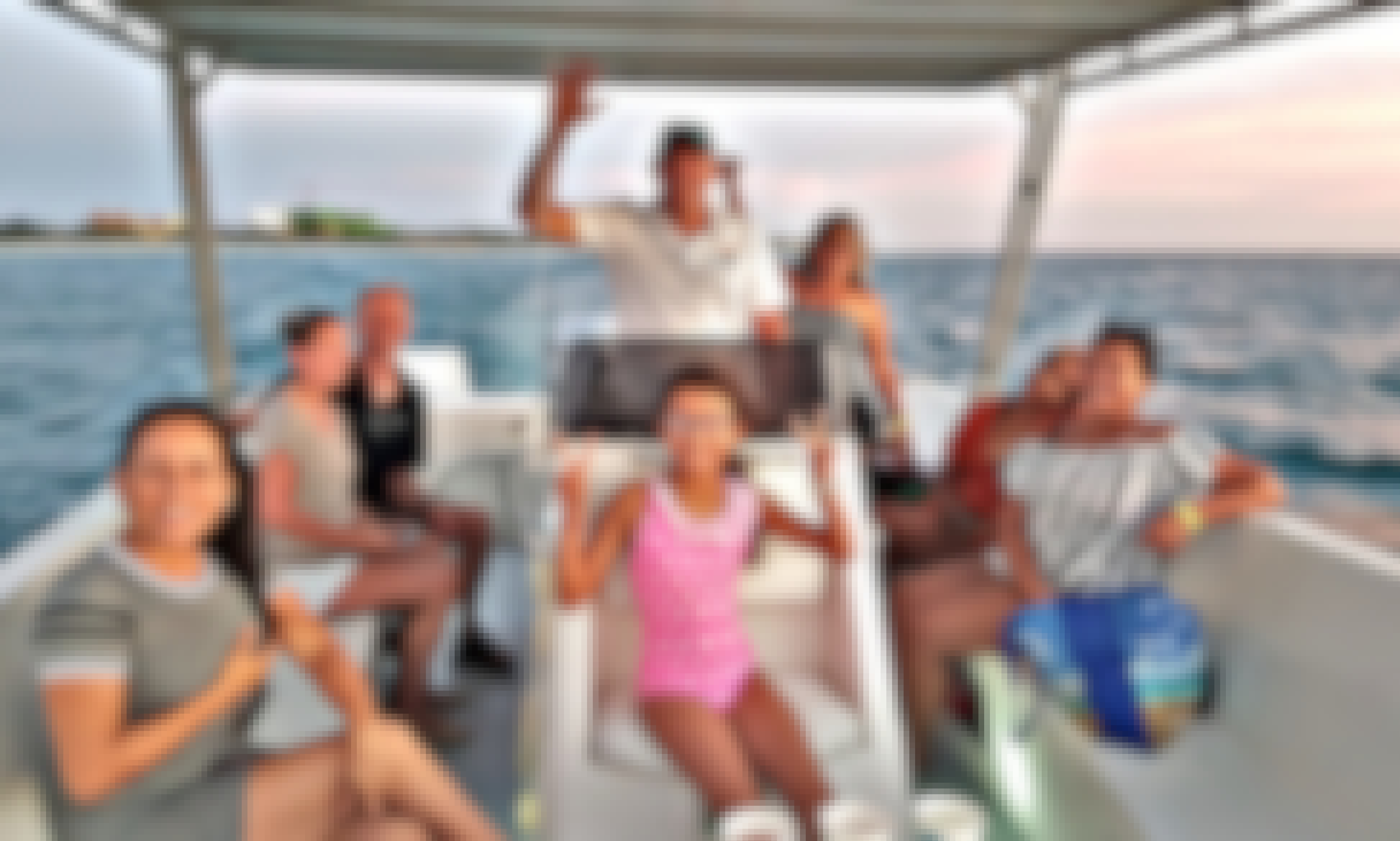 Aruba Private Boat no other people around you ,thats the way to do a sunset-cruise! Or combi-cruise  (snorkeling &sunset) palmbeach - highrise hotels (mariott surfclub-moomba beach )
