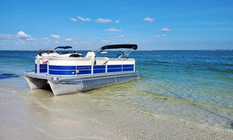 2021 Lexington Luxury Pontoon Rental in Clearwater, Tampa