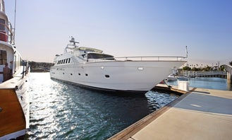106' TransWorld Power Mega Yacht  with Jacuzzi, Long Beach, LA