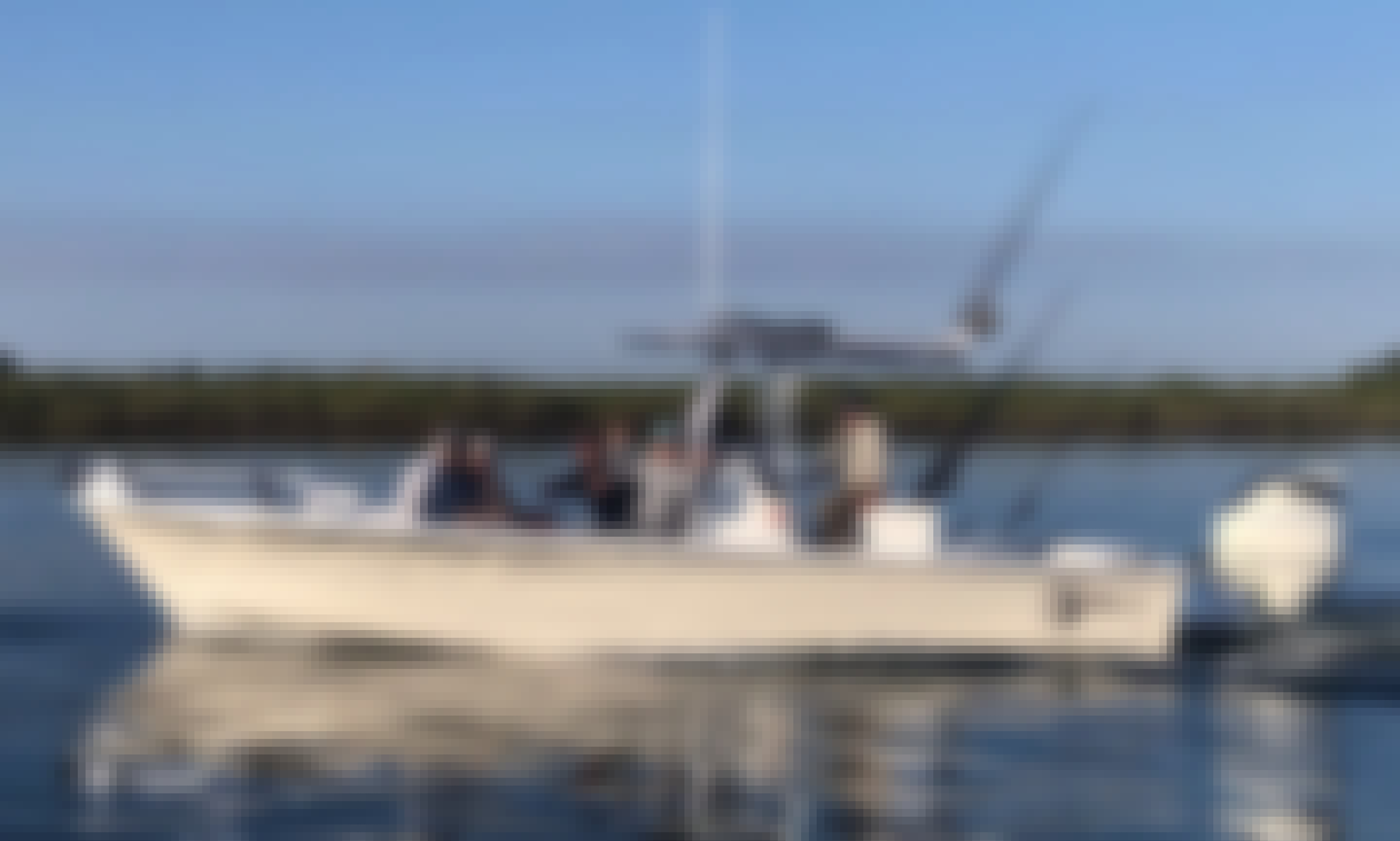 Enjoy Fishing Charter In Ponce Inlet, Florida On 25' CHawk