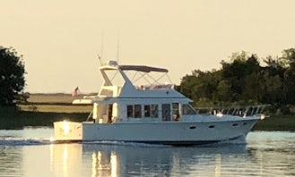 McKinna 481 Intracoastal Luxury Cruise in Wilmington, North Carolina.