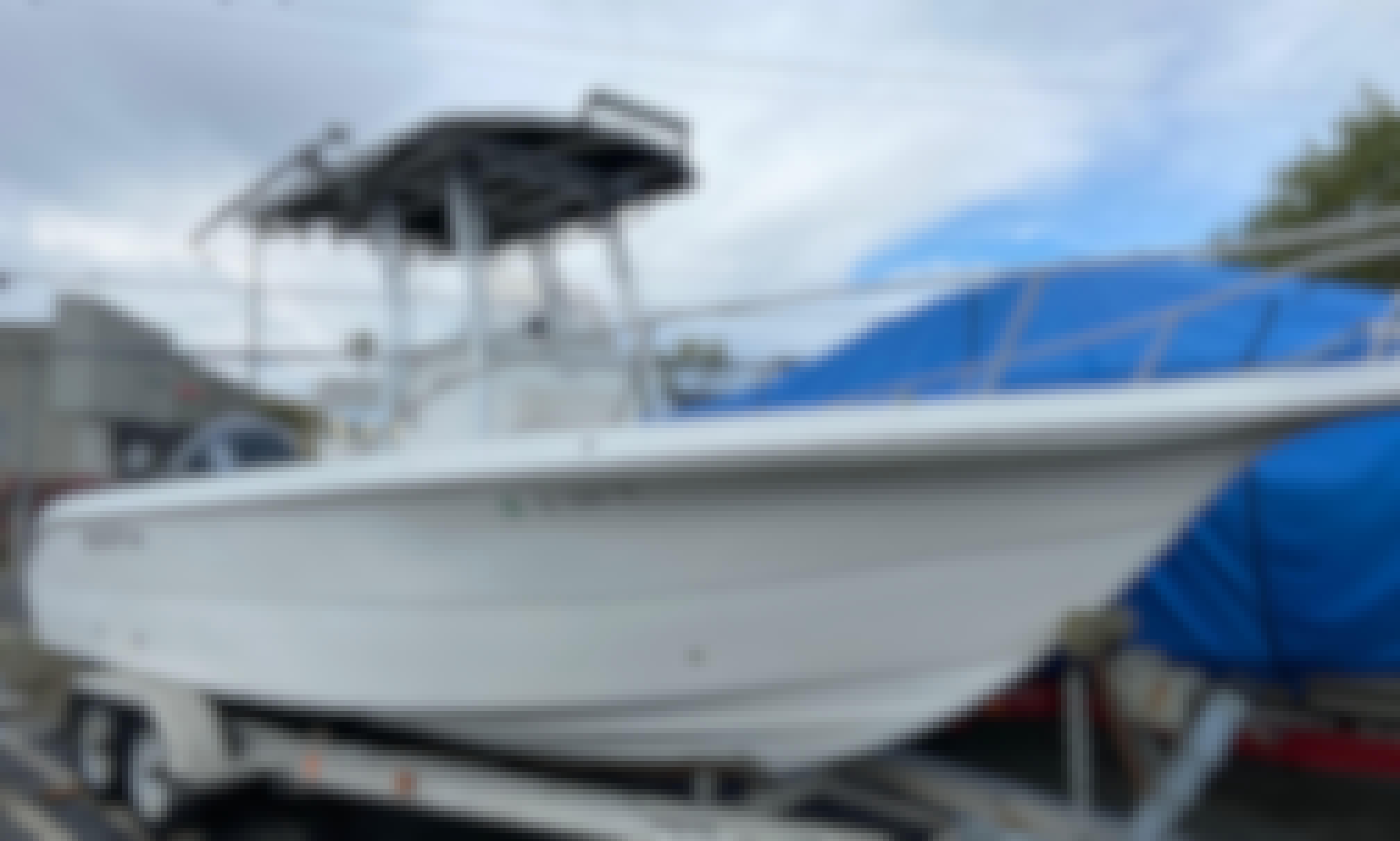 Seafox 230CC Speedy and Spacious Center Console Cruiser!