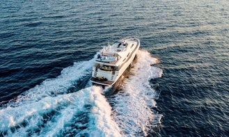 Crewed Charter on M/Y Pareaki Possilipo 80 in Alimos, Greece