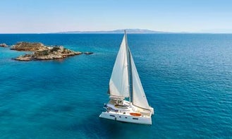 Crewed Charter on 46ft S/CAT Odyssey in Alimos, Greece