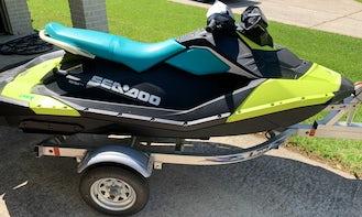 SeaDoo Spark3 Jet Ski Rental Houston Texas