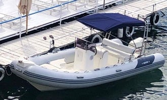 Self-Drive Master 21ft RIB for 8 hours in sunny Malta
