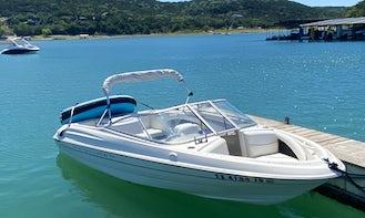Pleasure Ski Boat Rental in Austin - 18' Bayliner Capri
