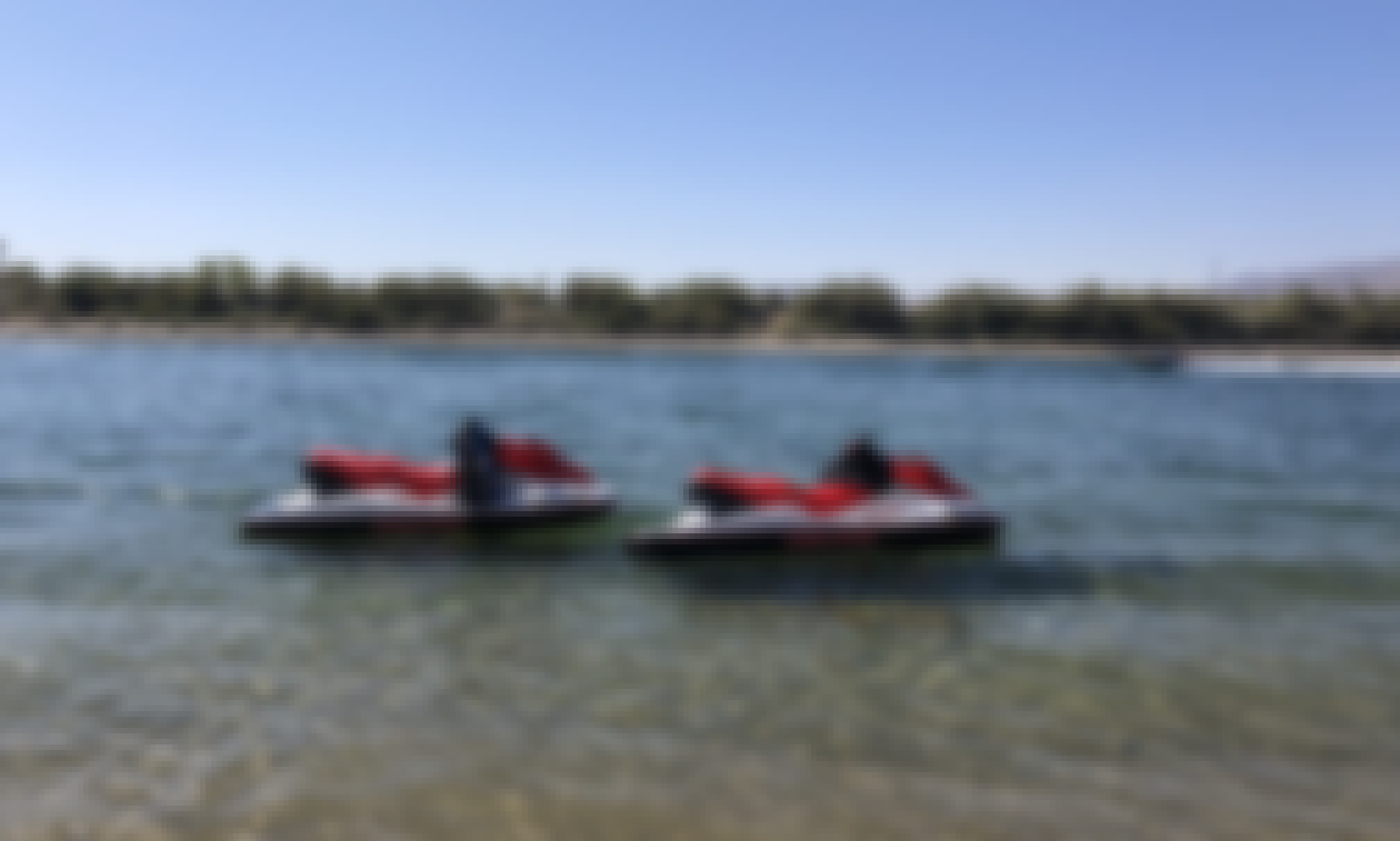 Two Seadoo Jetskis for rent in California