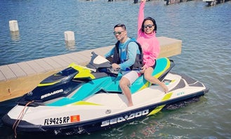 1 Seadoo GTI-90 and 1 Yamaha V1 - Jet Ski Rental in Panama City