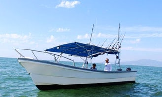 Rent this 26' Center Console for fishing and whale watching trips in  Nuevo Vallarta, Mexico!