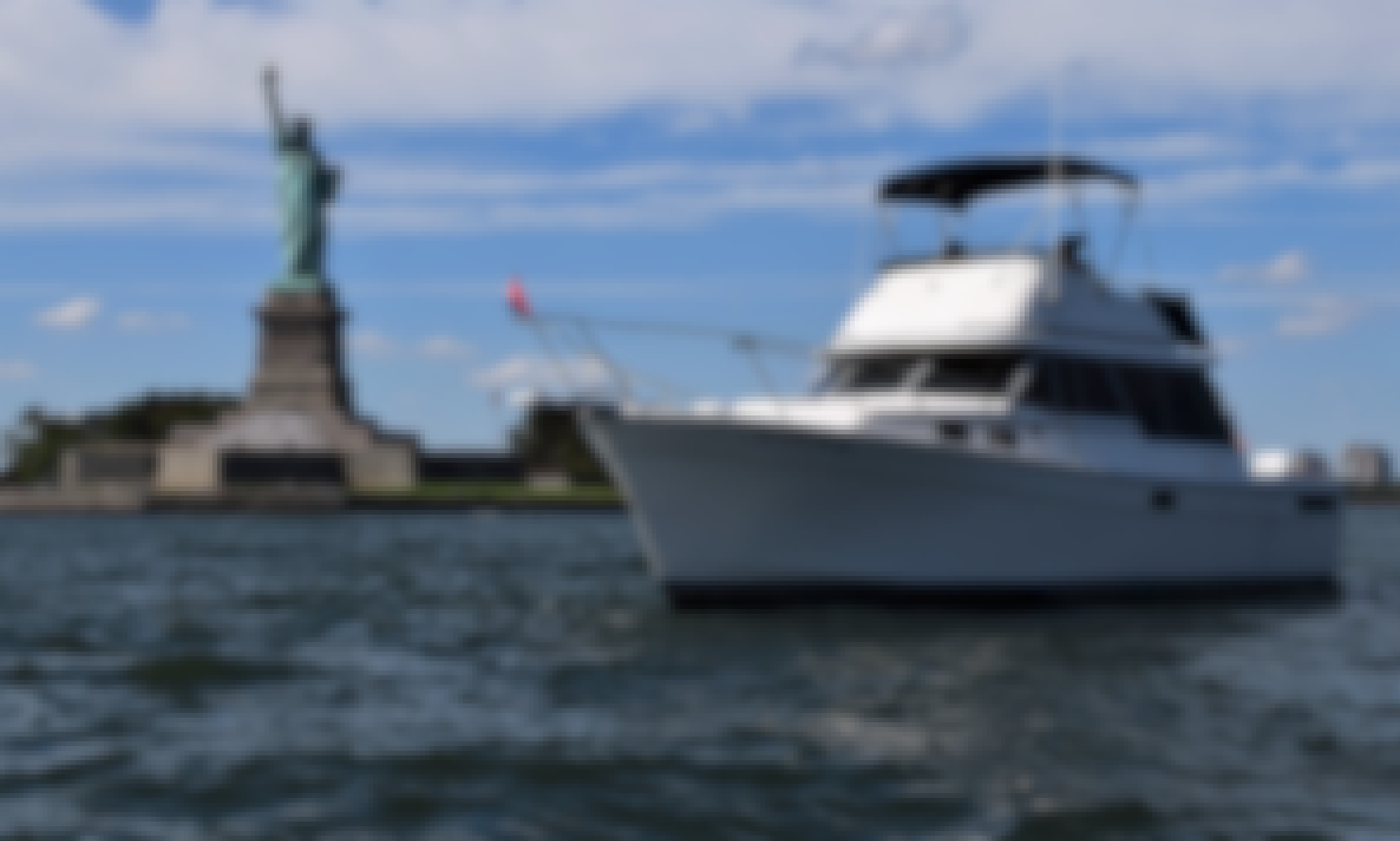 Private Boat Tours of NY Harbor and the Hudson River, Captain included