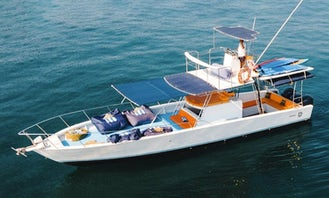 Book a Incredible 45' Cigarrete Family Boat in Puerto Vallarta, Jalisco!