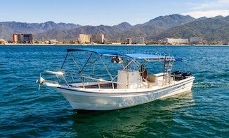 Super Panga 27' Express Fishing Boat in Puerto Vallarta