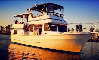 Gorgeous Power Yacht in Long Beach, California