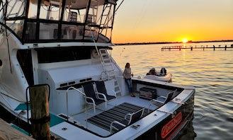 Charter 74ft Infinity Sportfish Yacht in Kemah, Texas