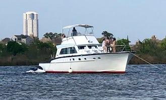 53ft Mathews Sportfish for Charter in Kemah, Texas