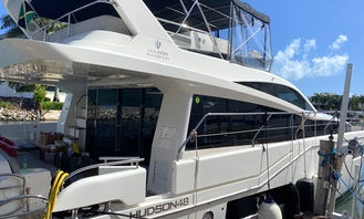 2019 Hudson 48' Yacht Charter!! Wider than a 70 footer yacht !