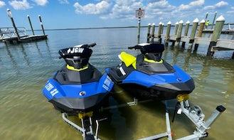 Super Fun!! NEW 2021 Seadoo Spark Jet Ski rental in Tampa Bay!
