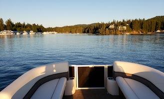 Grand Island RF 24' Pontoon Boat - Black Beauty