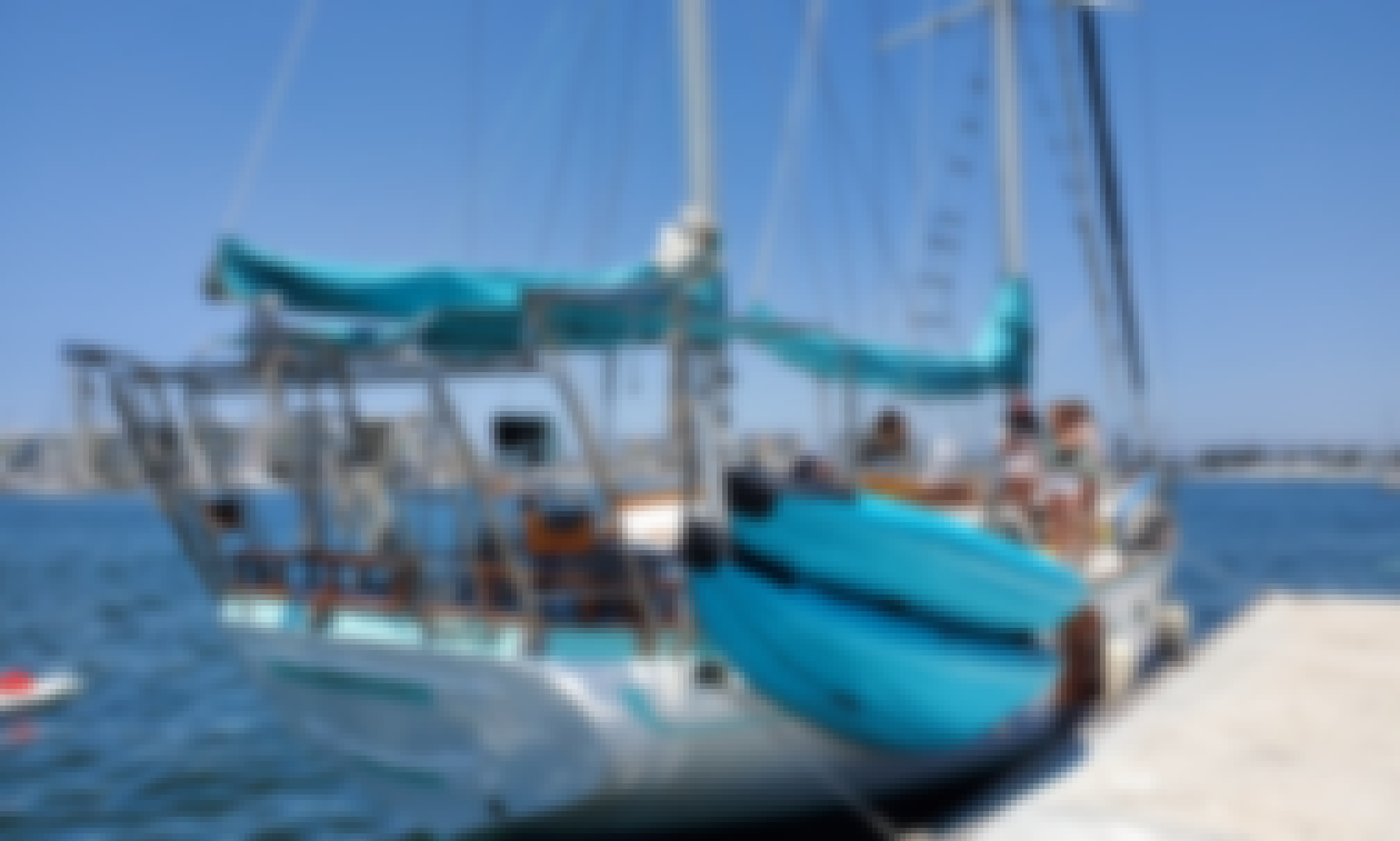 Charter 55ft Hudson Force sailboat In Marina del Rey, California. PLEASE READ THE PRICES UNDER