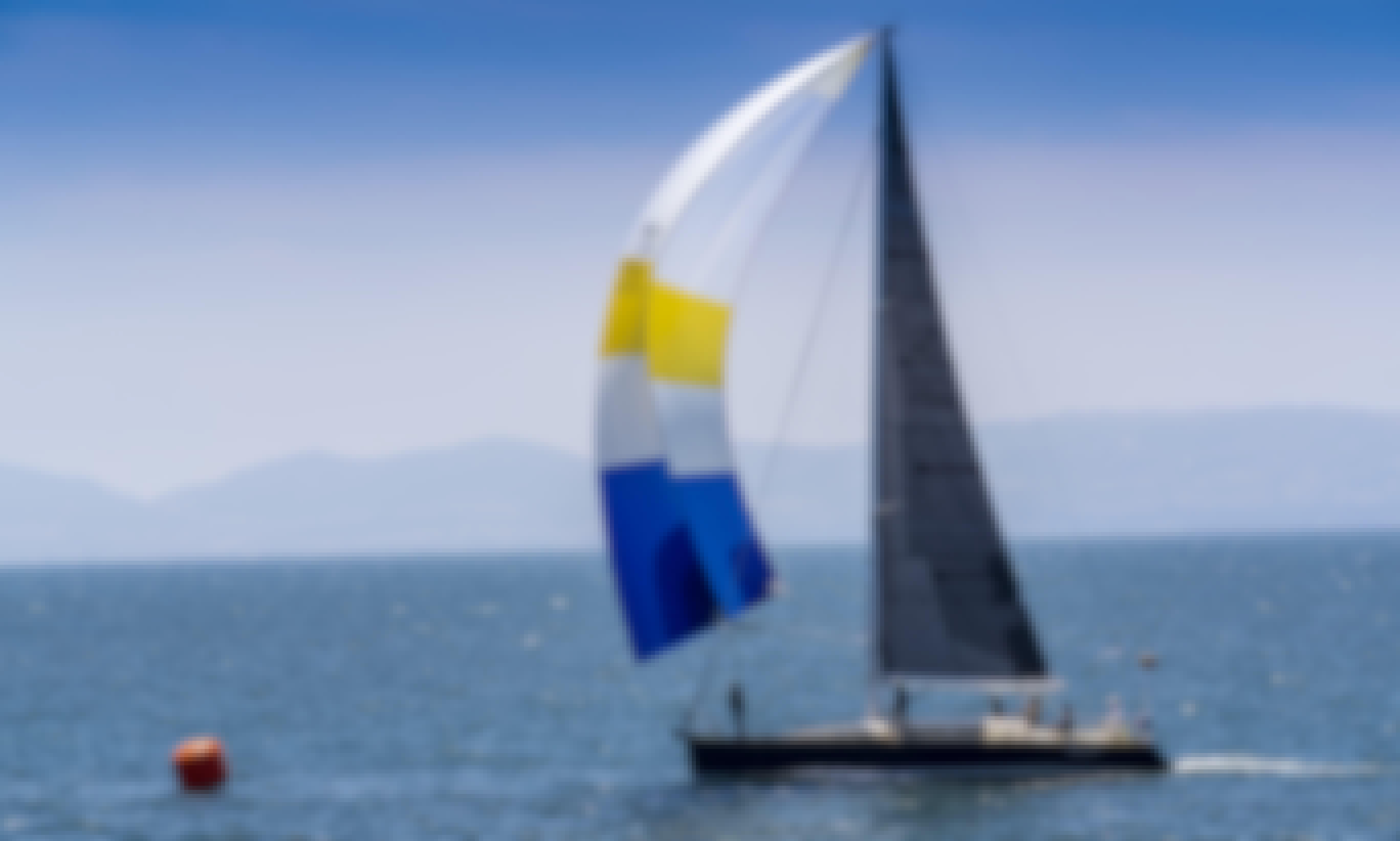 Create lifelong memories and enjoy the thrill of sailing - 47' racing sailboat