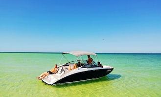 ⭐️ Must See ⭐️  Brand New Yamaha Jet Boat !! Tubing & Family Fun Boat in Tampa, Tarpon Springs, Dunedin, Clearwater, Saint Petersburg!