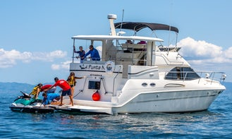 40' Sea Ray Motor Yacht Charter in Puerto Vallarta