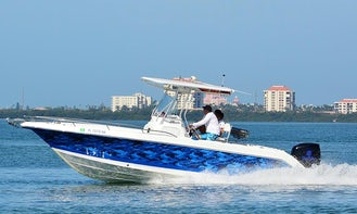 Water and Sun Adventures on the clear blue waters of the gulf with a Captain Scott